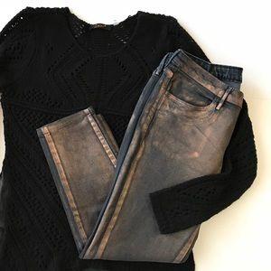 ⭐️NEW ARRIVAL Levi's Metallic Black Copper Legging